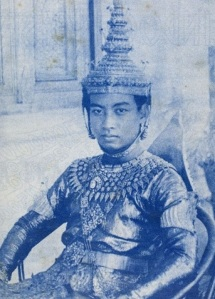 Norodom Sihanouk lat the time he was crown in 1941