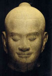 The head of Jayavarman VII